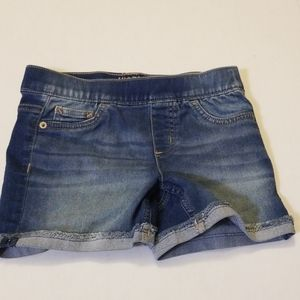 Justice Cuff Shorts Girls size 12 Jean
